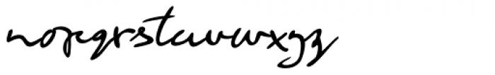 Retrouvailles Regular Font LOWERCASE