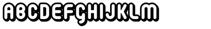 Retroxoid Font LOWERCASE
