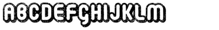 Retrozoid Font LOWERCASE