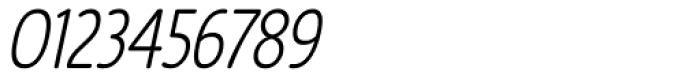 Revalo Modern Light Italic Font OTHER CHARS