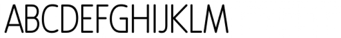 Revalo Modern Light Font UPPERCASE
