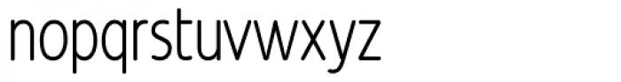 Revalo Modern Light Font LOWERCASE