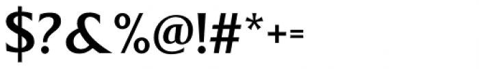 Revans Medium Font OTHER CHARS