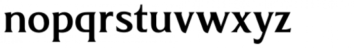 Revans Medium Font LOWERCASE