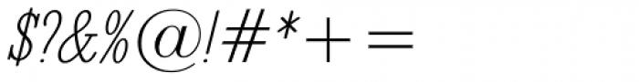 Revelation BTN Cond Oblique Font OTHER CHARS