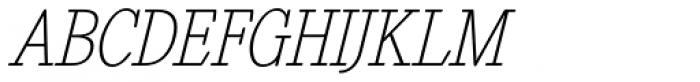 Revelation BTN Cond Oblique Font UPPERCASE