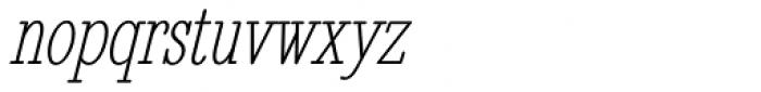 Revelation BTN Cond Oblique Font LOWERCASE