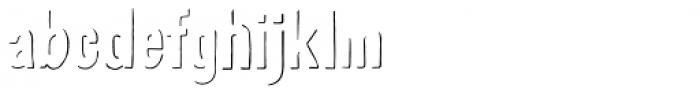Revello Deco Shadows Font LOWERCASE