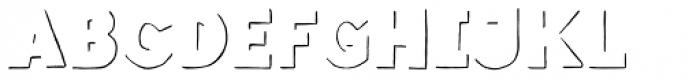 Revello Fat Shadows Font LOWERCASE