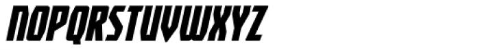 Revenger BB Italic Font UPPERCASE