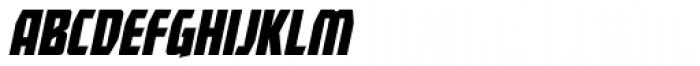 Revenger BB Italic Font LOWERCASE
