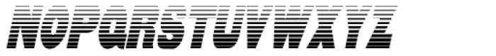 Reverberation Slanted JNL Font UPPERCASE