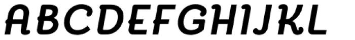 Reverie Bold Italic Font UPPERCASE