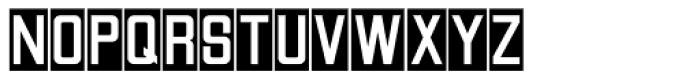 Reverse Gothic JNL Font UPPERCASE