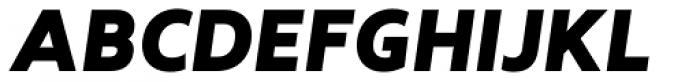Revisal Black Italic Font UPPERCASE