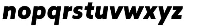 Revisal Black Italic Font LOWERCASE