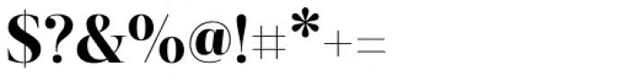 Revista Black Font OTHER CHARS