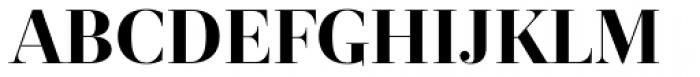 Revista Black Font UPPERCASE