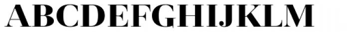 Revista Black Font LOWERCASE