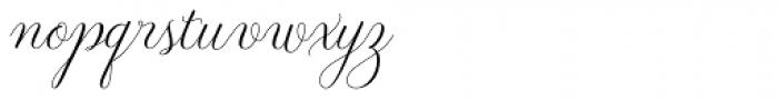 Revista Script Font LOWERCASE