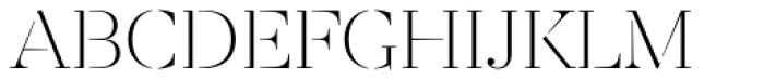 Revista Stencil Light Font UPPERCASE