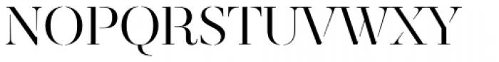 Revista Stencil Font UPPERCASE