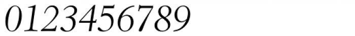 Revival 555 Light Italic Font OTHER CHARS