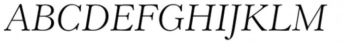 Revival 555 Light Italic Font UPPERCASE