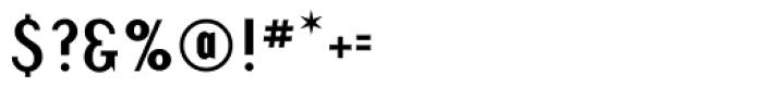 Revival Regular Font OTHER CHARS