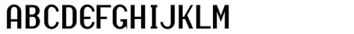 Revival Regular Font UPPERCASE