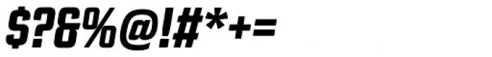 Revolution Gothic ExtraBold Italic Font OTHER CHARS