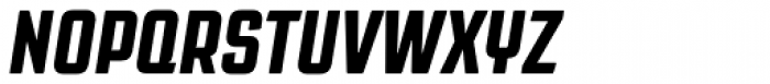 Revolution Gothic ExtraBold Italic Font UPPERCASE