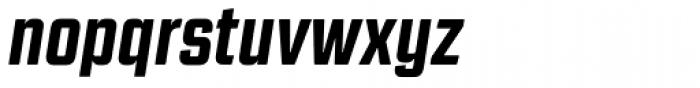 Revolution Gothic ExtraBold Italic Font LOWERCASE