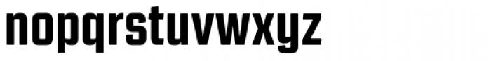 Revolution Gothic ExtraBold Font LOWERCASE