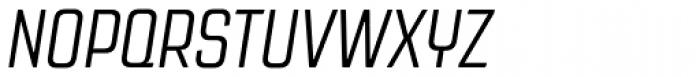 Revolution Gothic Light Italic Font UPPERCASE