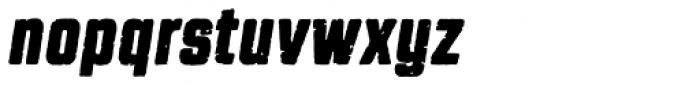 Revolution Gothic P Bold Italic Font LOWERCASE