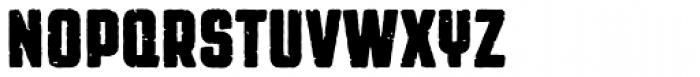 Revolution Gothic P Bold Font UPPERCASE