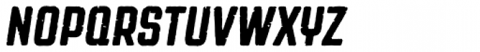 Revolution Gothic P Italic Font UPPERCASE