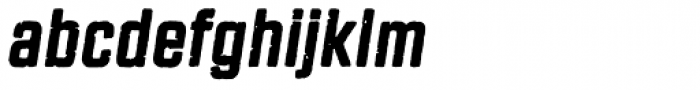 Revolution Gothic P Italic Font LOWERCASE