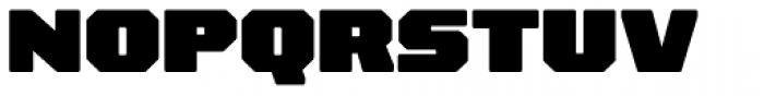 Rexlia Black Font UPPERCASE
