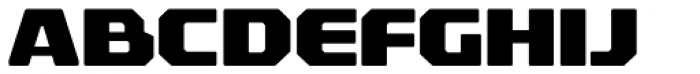 Rexlia Heavy Font UPPERCASE