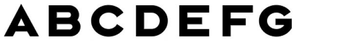 Rexton Black Font UPPERCASE