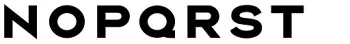 Rexton Black Font LOWERCASE