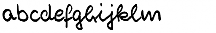 Reyno Handwriting Pro Font LOWERCASE
