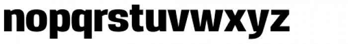 Reznik Heavy Font LOWERCASE