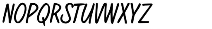 regularJoe Font UPPERCASE