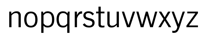 Reporter Font LOWERCASE