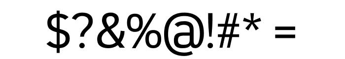 Republic Regular Font OTHER CHARS