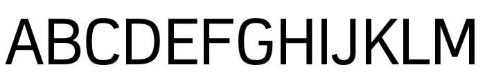 Republic Regular Font UPPERCASE