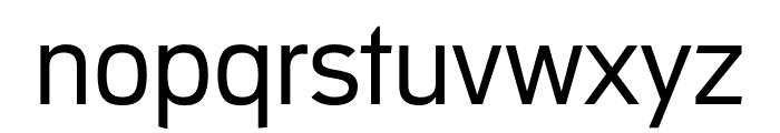 Republic Regular Font LOWERCASE